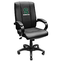 Michigan State University Alternate Logo Office Chair 1000 in Black