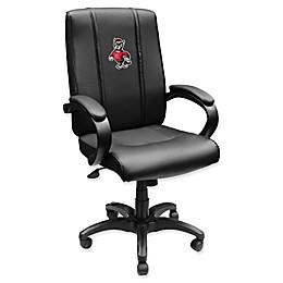 North Carolina State University Alternate Logo Office Chair 1000 in Black
