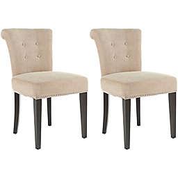 Safavieh Sinclair Beige Side Chair (Set of 2)