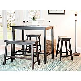 Safavieh American Home Ron in 4-Piece Pub Table Set