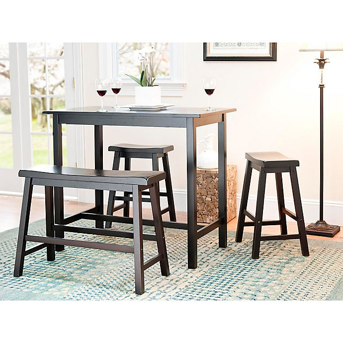 Alternate image 1 for Safavieh American Home Ron in 4-Piece Pub Table Set