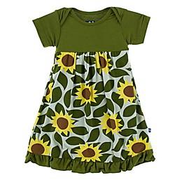 KicKee Pants® Sunflower Dress in Green