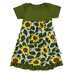 KicKee Pants® Sunflower Dress in Green