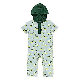 KicKee Pants® Sky Scooter Hoodie Romper in Green