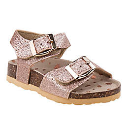 Laura Ashley Cork Sandal in Rose Gold