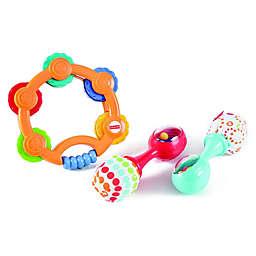 Fisher-Price® 3-Piece Tambourine and Maracas Gift Set