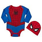 Marvel® Spiderman Size 3-6M Infant Bodysuit Set