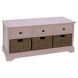 Decor Therapy Montgomery Bench in Rosie Mae