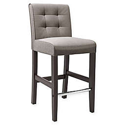Corliving™ Antonio Bar Stool in Grey