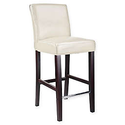 Corliving™ Leather Upholstered Antonio Bar Stool