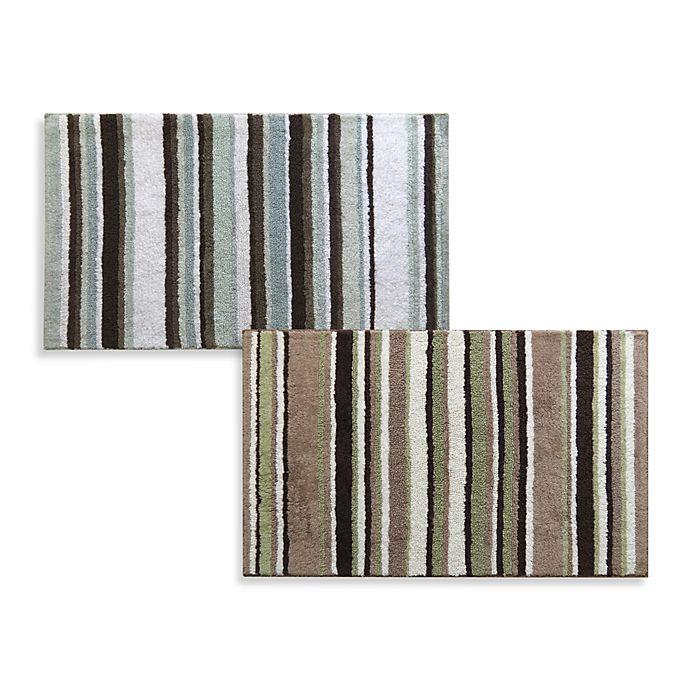 Park B Smith Bathroom Rugs: Park B. Smith® Magic Plush Stripe Bath Rugs