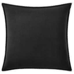 ED Ellen DeGeneres Boceto European Pillow Sham in Black