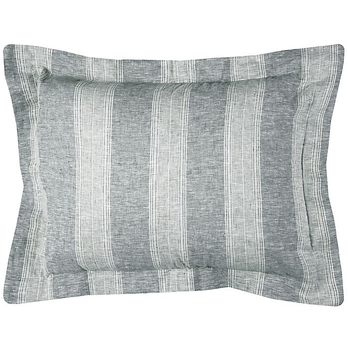 Alternate image 1 for Rizzy Home Katherine Grace Standard Pillow Sham in Ivory