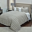 Part of the Rizzy Home Vincent III Duvet Cover