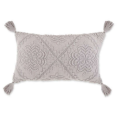 Bee & Willow™ Home Faded Diamond Oblong Throw Pillow