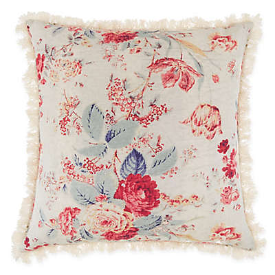 Bee & Willow™ Home Multi-Floral Square Throw Pillow