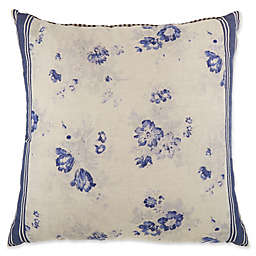 Bee & Willow™ Home Vintage Floral Square Throw Pillow in Blue