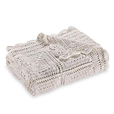 Bee & Willow™ Home Crochet Throw Blanket