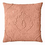 Bee & Willow™ Home Lotus Square Throw Pillow in Coral