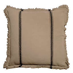 Bee & Willow™ Home Striped Linen Square Throw Pillow