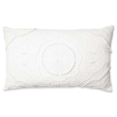 Bee & Willow™ Home Lionel Oblong Throw Pillow in White
