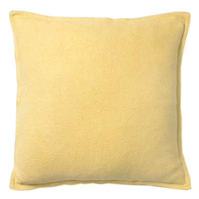 Bee & Willow™ Home Textured Square Throw Pillow in Yellow