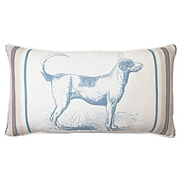 Bee & Willow™ Home Hound Oblong Throw Pillow in Navy
