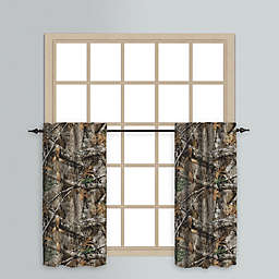 Realtree EDGE™ Rod Pocket Window Curtain Tier Pair