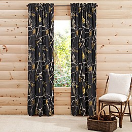 Realtree® Camo Rod Pocket Window Curtain Panel Pair