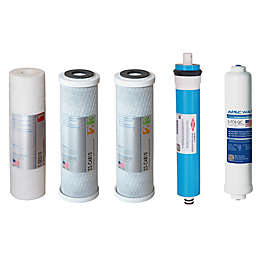 APEC Water® Ultimate 5-Piece 50 GPD Replacement Filter Set for Reverse Osmosis Systems