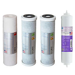 APEC Water™ 4-Piece pH+ Replacement Filter Set for Reverse Osmosis Systems