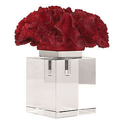 Uttermost Coral Cluster Sculpture in Red