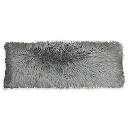 Thro Keller Faux Mongolian Fur Body Pillow