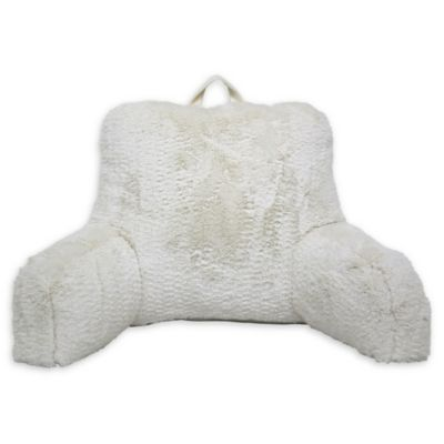 ugg clifton backrest pillow in charcoal