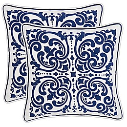 Floral Square Throw Pillow 2-Pack
