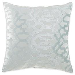 Trellis Burnout Square Throw Pillow