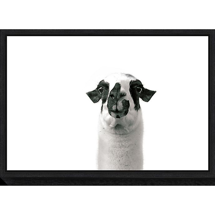 Alternate image 1 for Amanti Art® Laura Marshall 1.88-Inch x 16-Inch Framed Canvas in Black