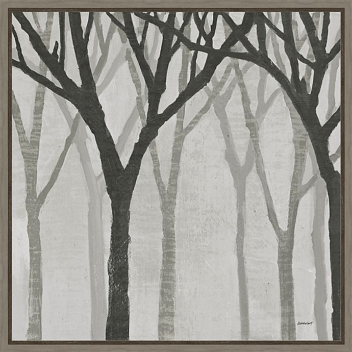Alternate image 1 for Amanti Art® Kathrine Lovell 22-Inch Square Framed Canvas in Gray Wash