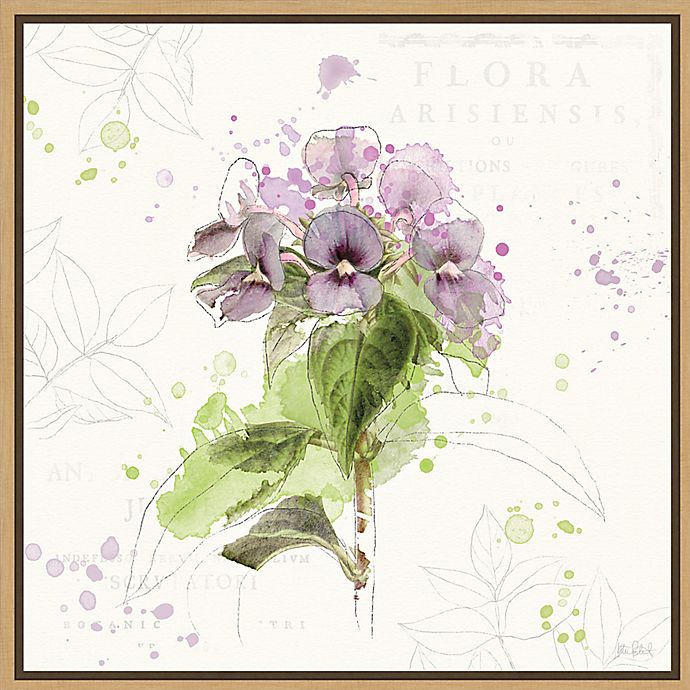 Alternate image 1 for Amanti Art® Katie Pertiet 22-Inch Square Framed Canvas in Maple