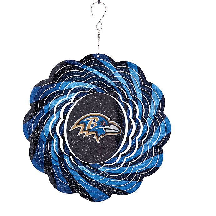 Alternate image 1 for NFL Baltimore Ravens Geo Spinner