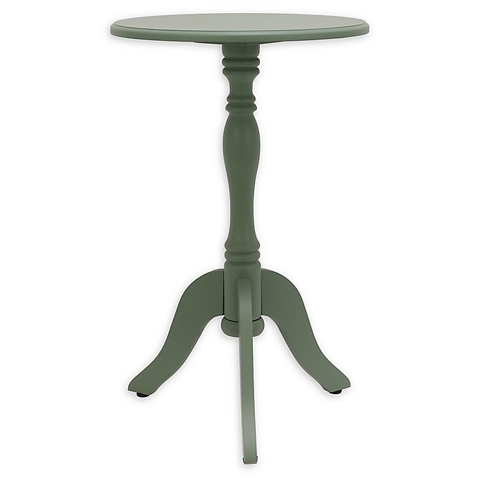 Alternate image 1 for Decor Therapy Simplify Pedestal Accent Table