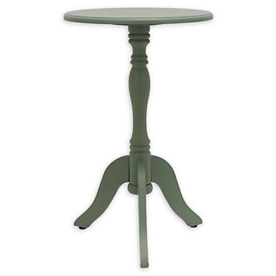 Decor Therapy Simplify Pedestal Accent Table