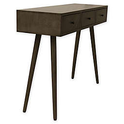 Decor Therapy Midcentury Modern 3-Drawer Console Table