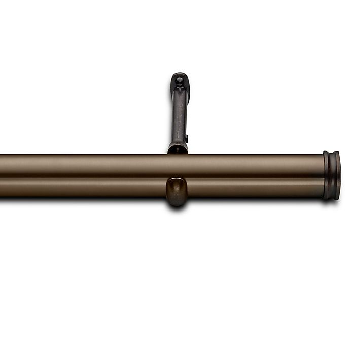 Alternate image 1 for Cambria® Elite Complete Decorative Drapery Rod in Oil Rubbed Bronze