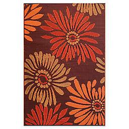 Mad Mats® Daisy Flat-Weave Indoor/Outdoor Area Rug
