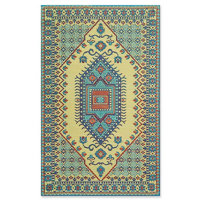 Alternate image 1 for Mad Mats® Oriental Turkish Flatweave Indoor/Outdoor Area Rug