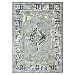 Bee & Willow Home™ Kolkata Rug in Blue