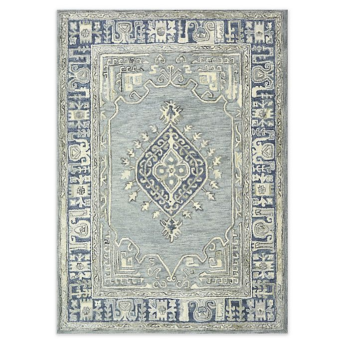 Alternate image 1 for Bee & Willow™ Home Kolkata Area Rug in Blue