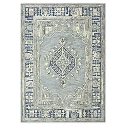 Bee & Willow™ Home Kolkata Area Rug in Blue