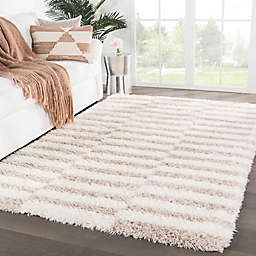Jaipur Living Soraya Stripes Rug in Ivory